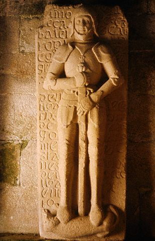 Tomb Slab of a Knight of St. James