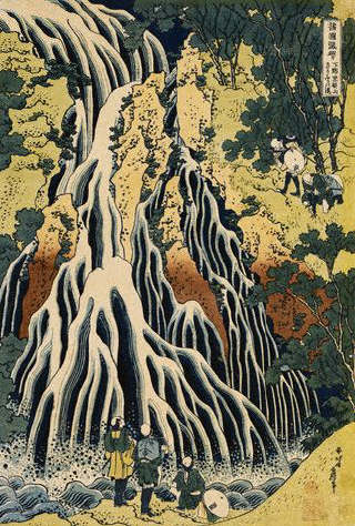 A Journey to the Waterfalls of All the Provinces by Katsushika Hokusai 1830 - 1831