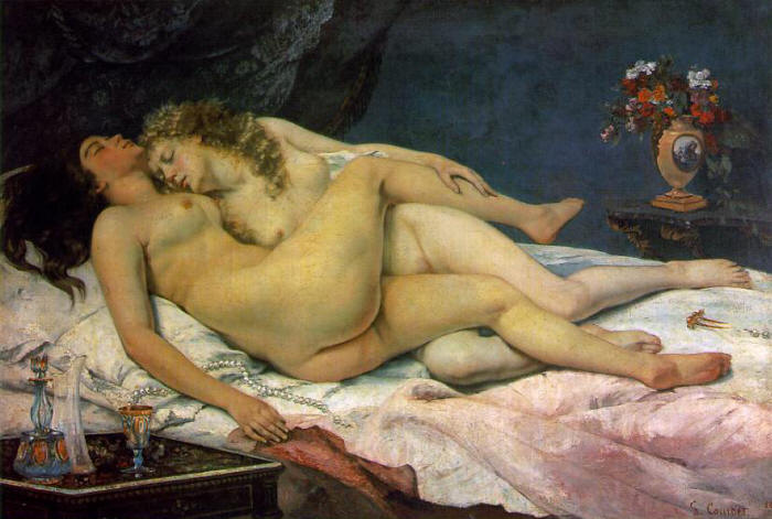 Courbet, Gustave The Sleepers