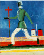 Running Man by K. Malevich 1932