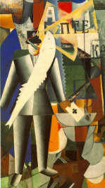 The Aviator by K. Malevich 1914