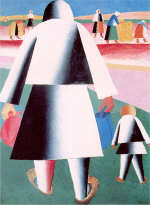 To Harvest by K. Malevich 1928-32