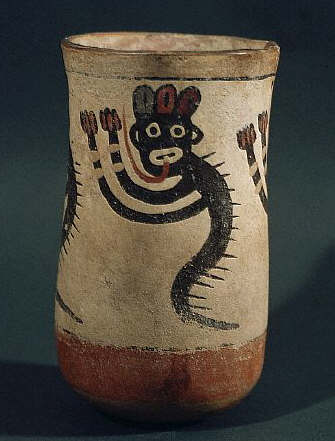 Nazca Vase With a Monkey са. 3rd с