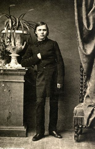 Nietzsche as a young man