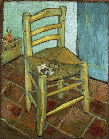 Vincent van Gogh, The Chair and the Pipe, 1889