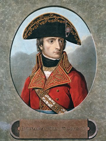 Andrea Appiami's portrait of the young Napoleon, ca. 1825