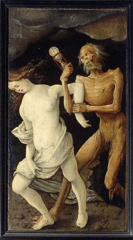 Death and a Young Woman by Hans Baldung Grien 1498-1545