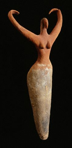 Egyptian Predynastic Female Figurine ca. 3650-3300 B.C.