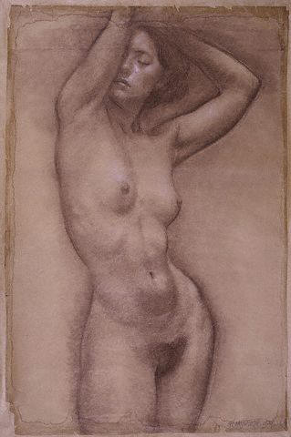 My Best Nude Drawing by Robert McIntosh 1937