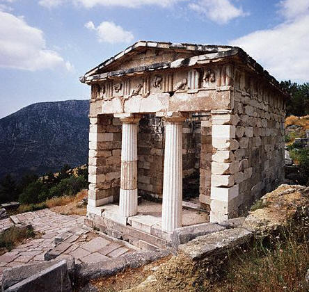 The Athenian Treasury at Delphi