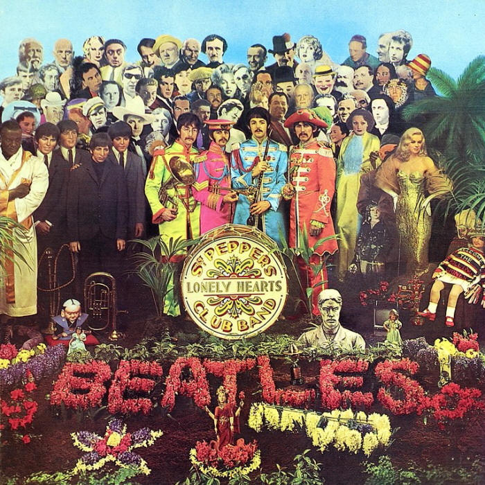 Sgt. Pepper's Lonely Hearts Club Band by Peter Blake 1967