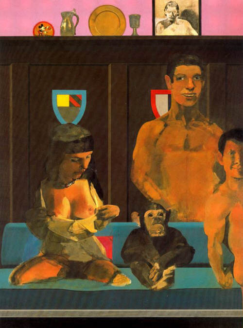 Peter Blake Tarzan, Jane, Boy y Cheeta