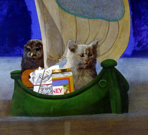 Peter Blake The Owl and the Pussycat