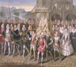 Elizabeth I in Procession with her Courtiers