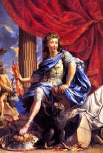 Louis XIV (1638-1715) as Jupiter by Charles Poerson