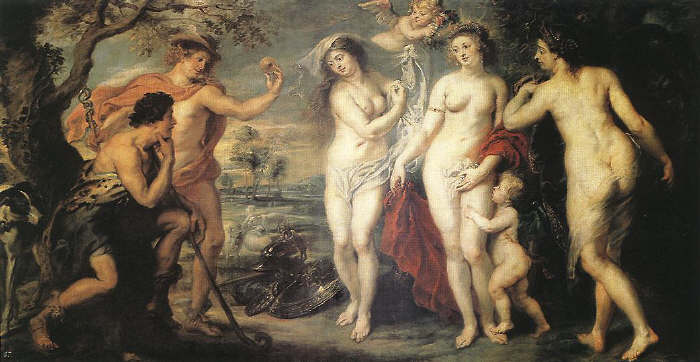 Peter Paul Rubens.The Judgment of Paris
