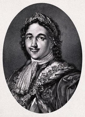 Peter the Great Engraving