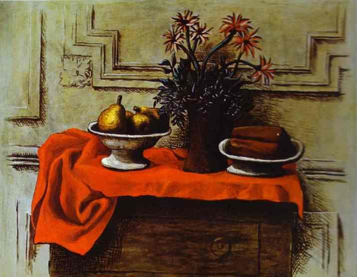 Still-Life by Pablo Picasso. 1919