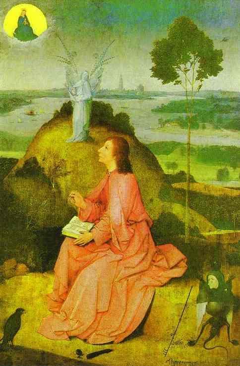 Bosch, St. John the Evangelist on Patmos