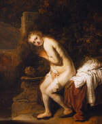 Susanna and the Elders by  Rembrandt 1634