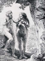 The Fall of Man by Rembrandt