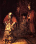 Rembrandt. The Return of the Prodigal Son
