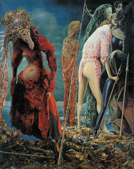 Max Ernst. The Antipope, 1941