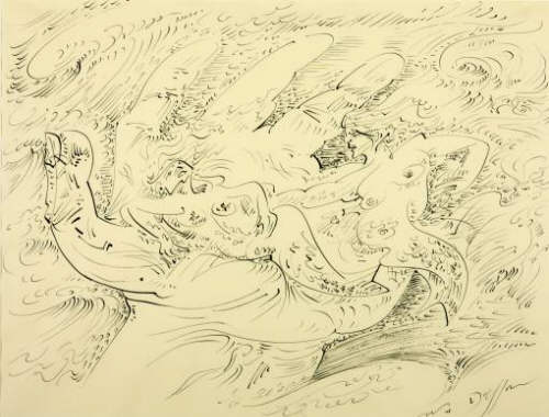 Andre Masson, Sirens 1947