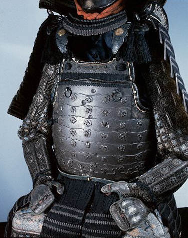 Japanese samurai armour  made in the mid 18th century
