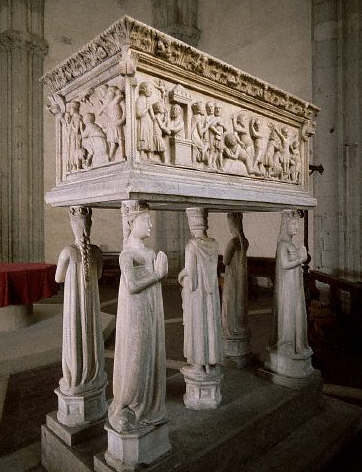 A 14th-Century Italian Sarcophagus Containing the Relics of St. Ermagora and St. Fortunato by Beato Bertrando