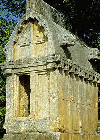 Ancient Antiphellos: Lycian Sarcophagus