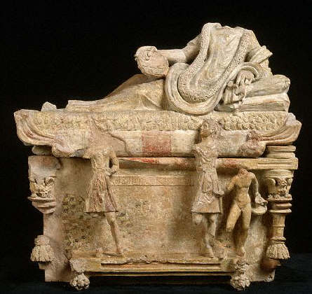 Ancient Italian Sarcophagus