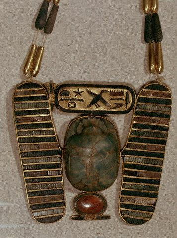 Pectoral with Scarab