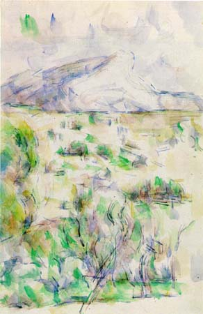 Paul Cezanne. The Mount of St.Victoria 1901-1906