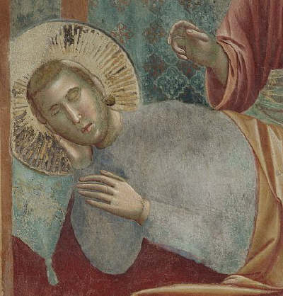 St. Francis' Vision of a Heavenly Palace by Giotto