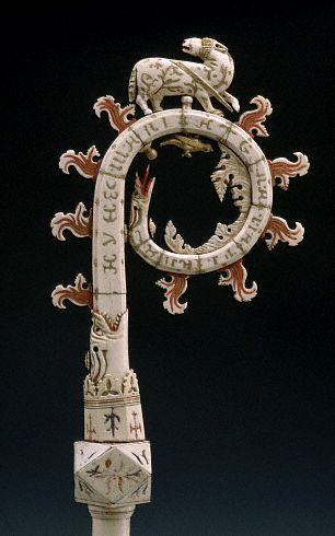 Crook of Pastoral Staff, Gothic, Central Italian by Unknown Artist