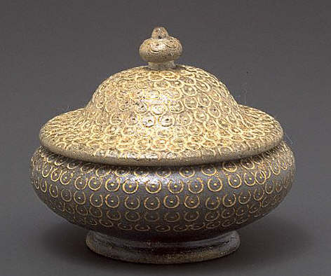 Stupa-Shaped Bowl and Cover