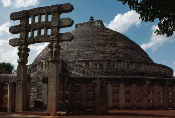 South Torana at the Great Stupa of Sanchi