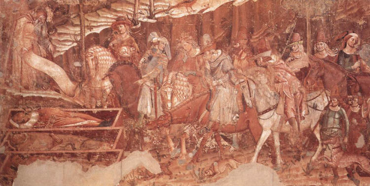 Francesco Traini, Triumph of Death, Fresco, 1350 Campo Santo