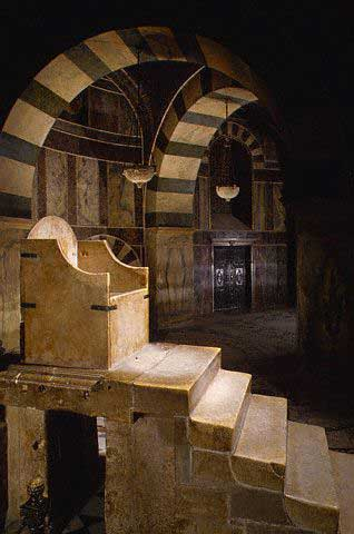 The Throne of Charlemagne made from Roman stone, Aachen, Germany