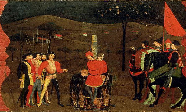 Miracle of the Desecrated Host by Paolo Uccello