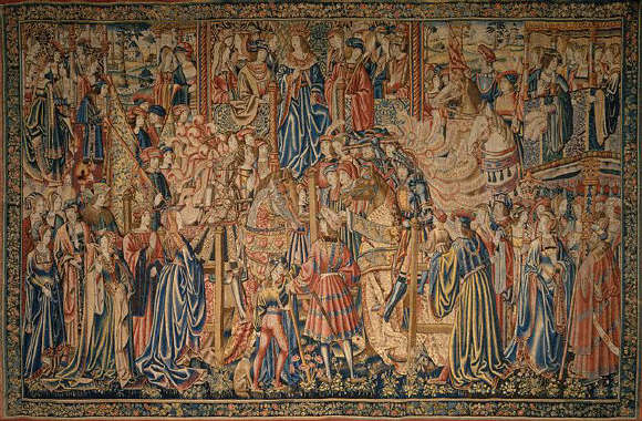 16th-Century Flemish Tapestry Tournament