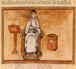 Virgil from 6th century Roman Codex in the Vatican