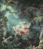 Jean-Honore Fragonard. The Swing
