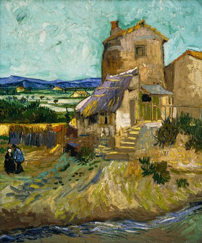 The Old Mill by Vincent van Gogh 1888