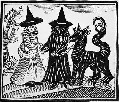 White Witch, Black Witch and a Devil Animal