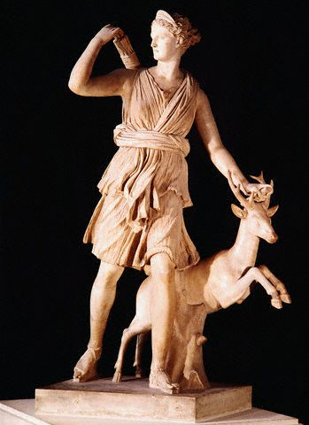 Diana the Huntress ca. 350 B.C.