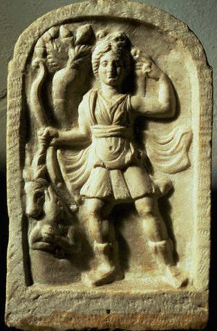 Stele With Diana as a Huntress 3rd A.D.