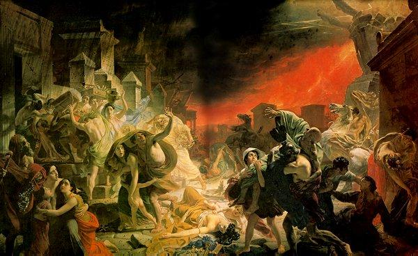 The Last Day of Pompeii by Karl Brulloff