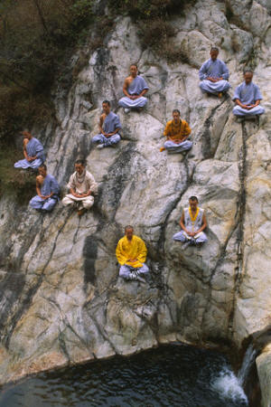 Monks of the Wushu Training Center, Shaolin